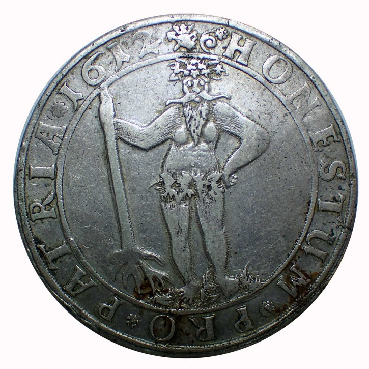 Braunschweig-Wolfenbüttel 1 Taler 1612 Heinrich Julius Wilder Mann