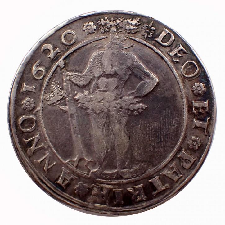 Braunschweig-Wolfenbüttel Friedrich Ulrich 1 Taler 1620 Wilder Mann