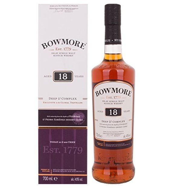 Bowmore 18 YO Deep & Complex Single Malt Scotch Whisky 43% 0,7l