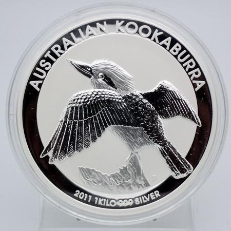 Australien $ 30 Silber 1 kg Kookaburra 2011