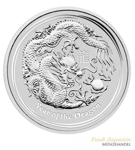 Australien $ 1 Silber Lunar II Drache 2012