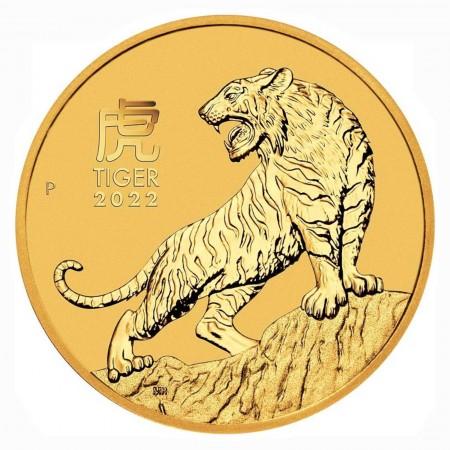 "Australien $ 100 1 oz Gold Lunarserie ""Tiger"" 2022"