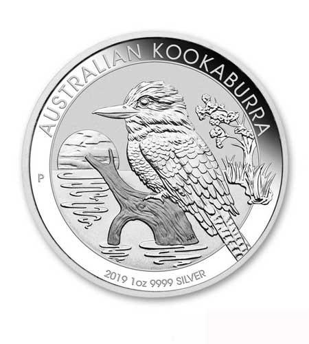 Australien $ 1 Silber 1 oz Kookaburra 2019