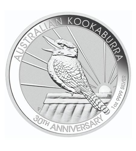 Australien $ 1 Silber 1 oz Kookaburra 2020