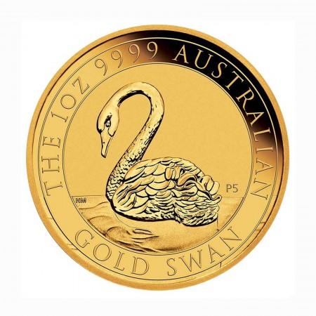 Australien $ 100 1 oz Gold Schwan 2021
