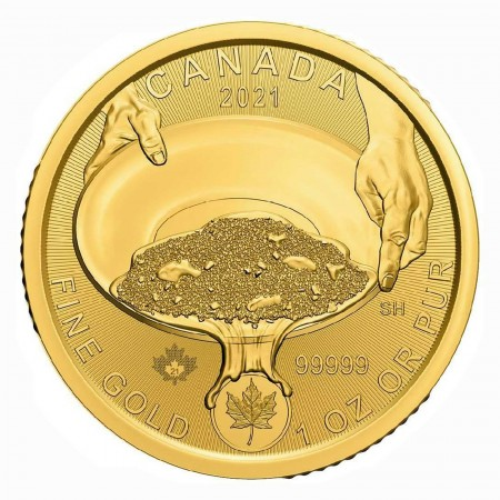 Canada CAD 200 Klondike Gold Rush 1 oz Gold Rush 2021