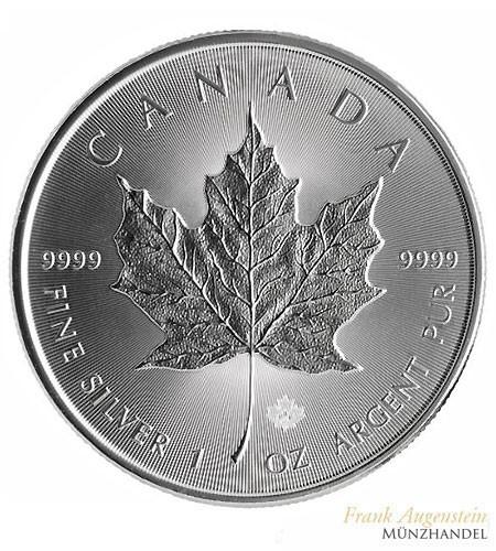 Canada $ 5 Silber 1 oz Maple Leaf 2018