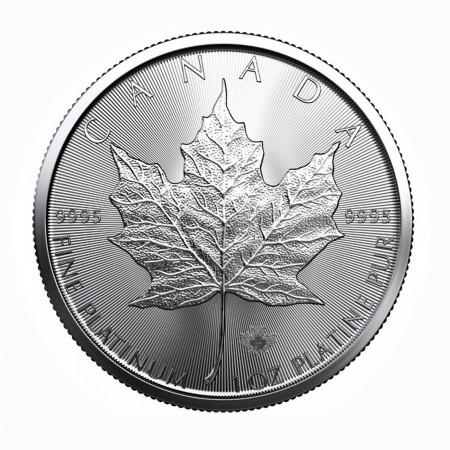 Canada $ 50 Platin Maple Leaf 1 oz .9995 Pt