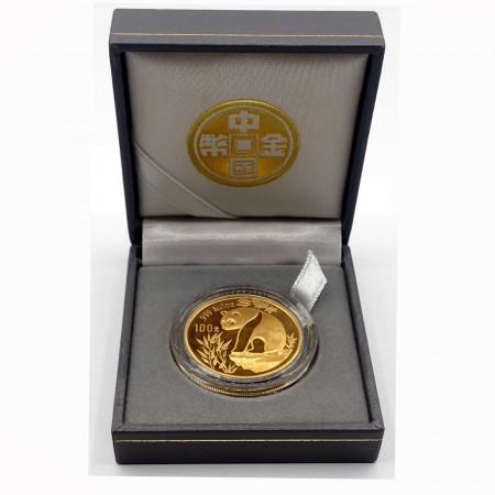 China 100 Yuan Panda 1 oz Gold 1993