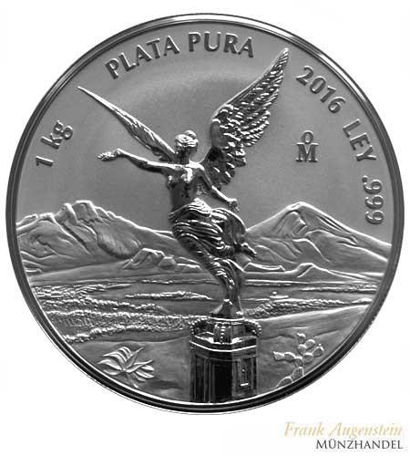 Mexiko Libertad/Siegesgöttin 2017 1 kg Silber Silber PL