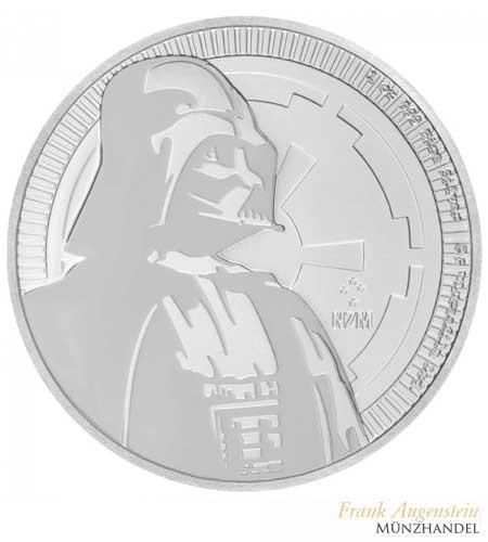 NIUE $ 2 Silber Star Wars - Darth Vader 2017