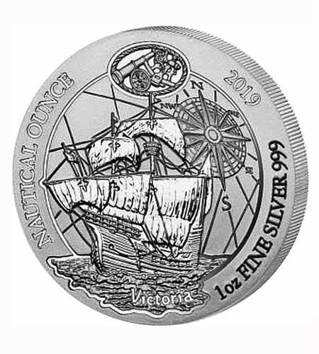 Ruanda 50 Francs 1 oz Silber Nautical Ounce Victoria 2019 BU