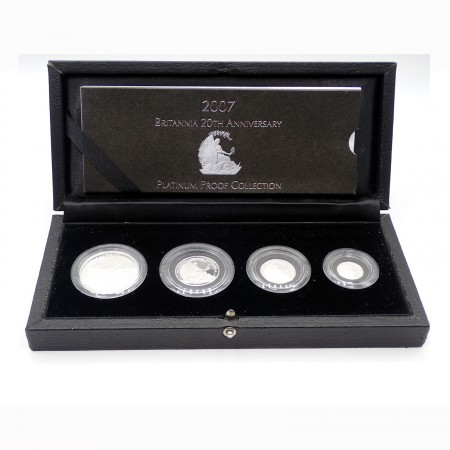 Großbritannien 20th Anniversary Platinum Proof Collection 1,75 oz Platin