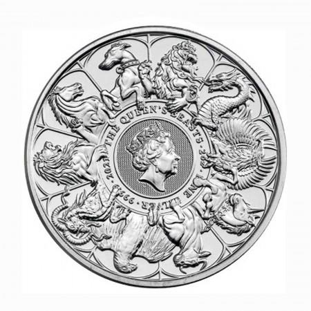 Großbritannien 5 Pfund Completer Coin .999 Silber 2021