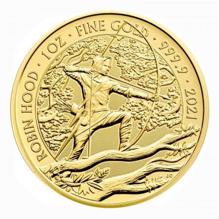 Großbritannien 1 oz Gold Myths & Legends Robin Hood 100 GBP 2021