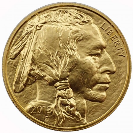 USA $ 50 Gold Buffalo 2013 1 oz BU