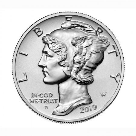USA $ 25 US Eagle 1 oz .9995 Palladium 2019 PP Reverse Proof