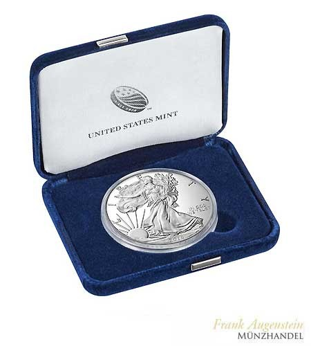 USA $ 1 Silver Eagle Silber PP 2016