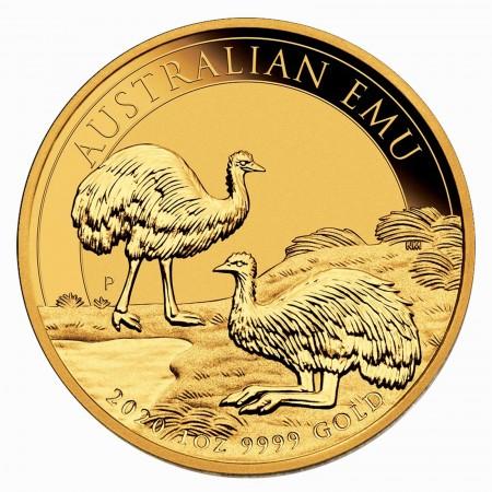 Australien $ 100 1 oz Gold Emu 2020