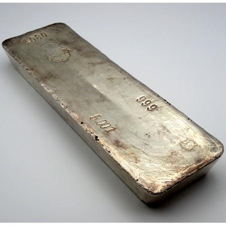 Drijfhout en Zoon Silberbarren 5 Kilo .999 Silber