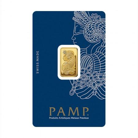 Pamp Suisse Goldbarren Fortuna 5 Gramm .9999 Gold