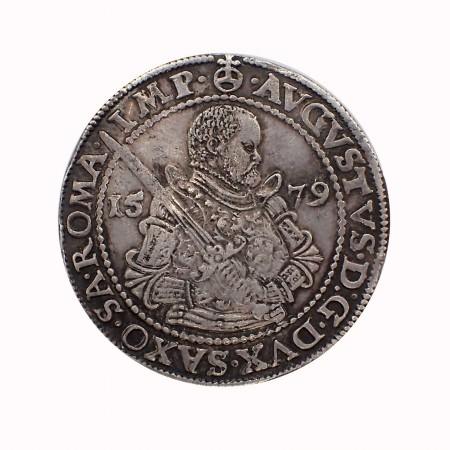 Sachsen Albertinische Linie 1 Taler August 1579