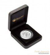 Australien $ 1 Kookaburra 1 oz Silber 2015 High Relief Jubiläumsausgabe