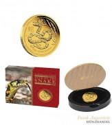 Australien $ 100 Lunar Jahr der Schlange 1 oz Gold 2013 PP