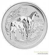 Australien $ 1 Silber Lunar II Pferd 2014