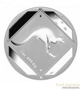 Australien $ 1 Silber Kangaroo Road Sign 2013