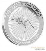 Australien $ 1 Silber 1 oz Kangaroo Perth Mint 2016