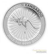 Australien $ 1 Silber 1 oz Kangaroo Perth Mint 2017