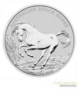 Australien $ 1 Stock Horse Silber 2017