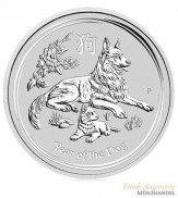 Australien $ 1 Silber Lunar II Jahr des Hundes 2018