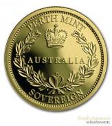 Australien $ 25 Proof Sovereign Gold 2015