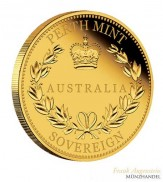 Australien $ 25 Proof Sovereign Gold 2016