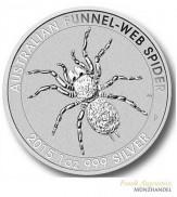 Australien $ 1 Silber 1 oz Trichternetzspinne 2015