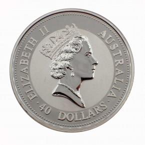 Australien $ 40 Palladium Emu 1998 BU 1 oz Pd