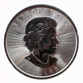 Canada $ 2 Weißkopfseeadler 1/2 oz Silber 2015