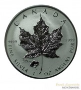 "Canada $ 5 Silber 1 oz Maple Leaf 2016 Privy Ana ""The Poppy"""