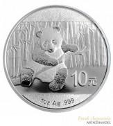 China 10 Yuan Silber Panda 2014