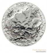 Cook Islands $ 25 Denali 7 Summits 5 oz Silber 2016 PP
