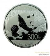 China 300 Yuan Silber Panda 2016 1 Kilo PP