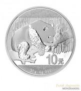 China 10 Yuan Silber Panda 2016