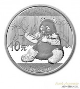 China 10 Yuan Silber Panda 2017