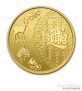Canada $ 50 Five Blessings 1 oz .9999 Gold 2014