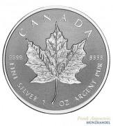 Canada $ 5 Silber 1 oz Maple Leaf 2018 Incuse