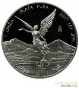 Mexiko Libertad/Siegesgöttin 2017 PP 1 oz Silber