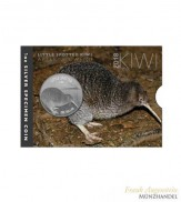 Neuseeland $ 1 Silber Kiwi 2018 BU in Blister -  Little Spotted Kiwi
