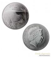 Neuseeland $ 1 Silber Kiwi 2018 BU in Blister -  Little Spotted Kiwi